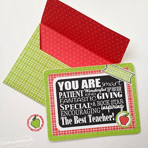 FF 100 Directions Teacher Appreciation