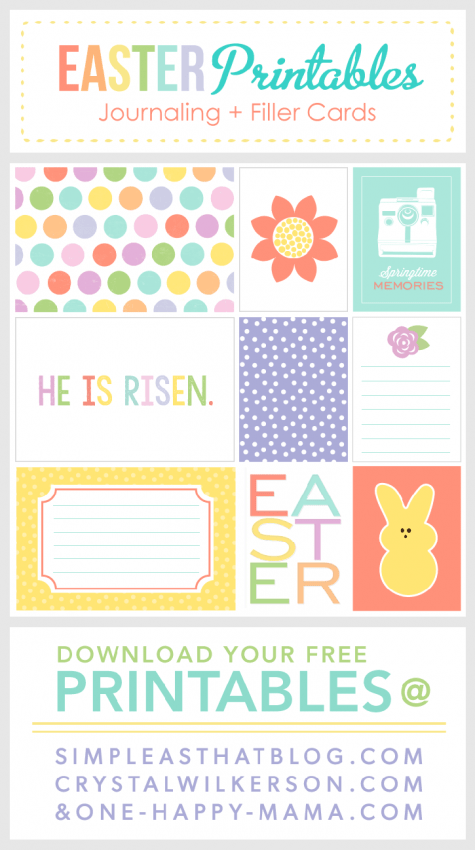 FF Simple As That Easter free printables