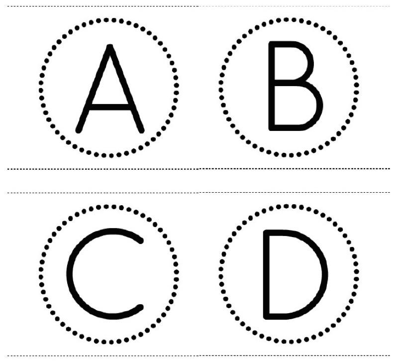 FF Small Types Alphabet Banner