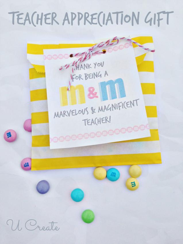 FF U Create Teacher Appreciation