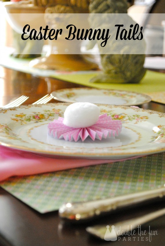 How to Make Easter Bunny Tails by Double the Fun Parties