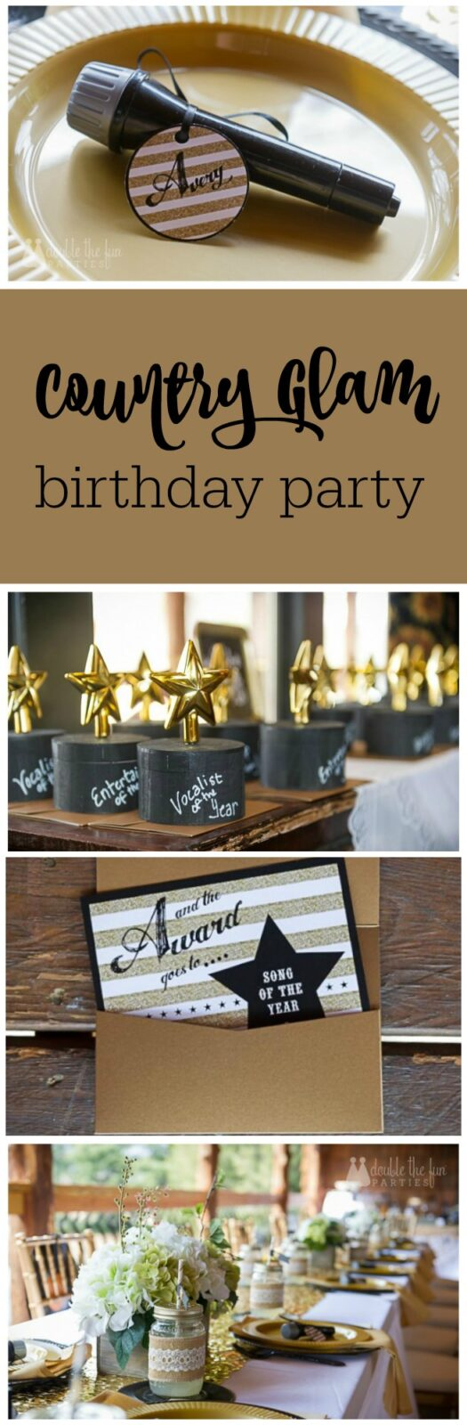 My daughter would love this - a country glam party with karaoke by The Party Teacher