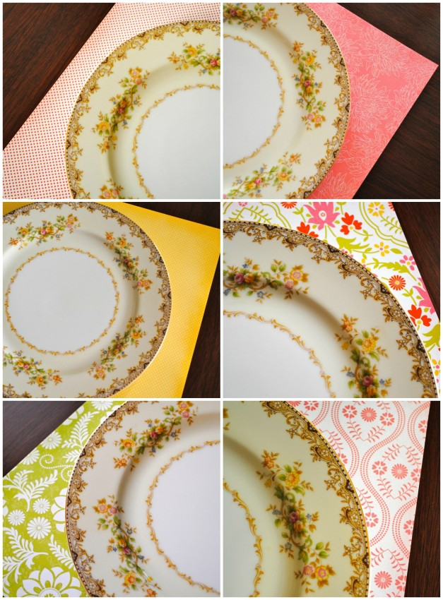 Try mix and match placemats at Easter