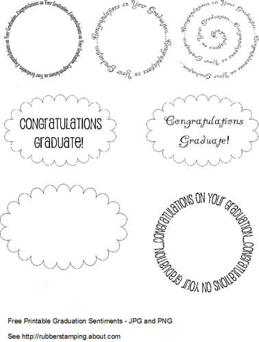 FF Rubber Stamping Graduation