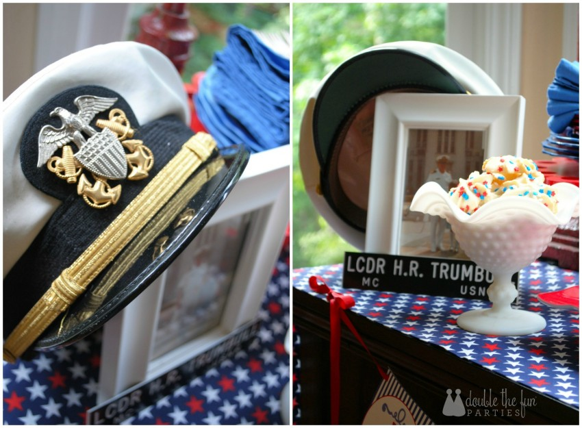 4th of July Party incorporate your family's military service by Double the Fun Parties-WM