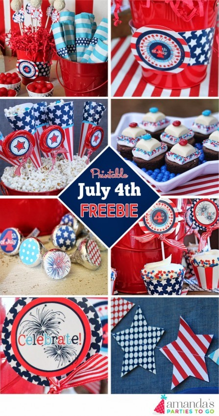 FF 4th of July Amanda's Parties To Go
