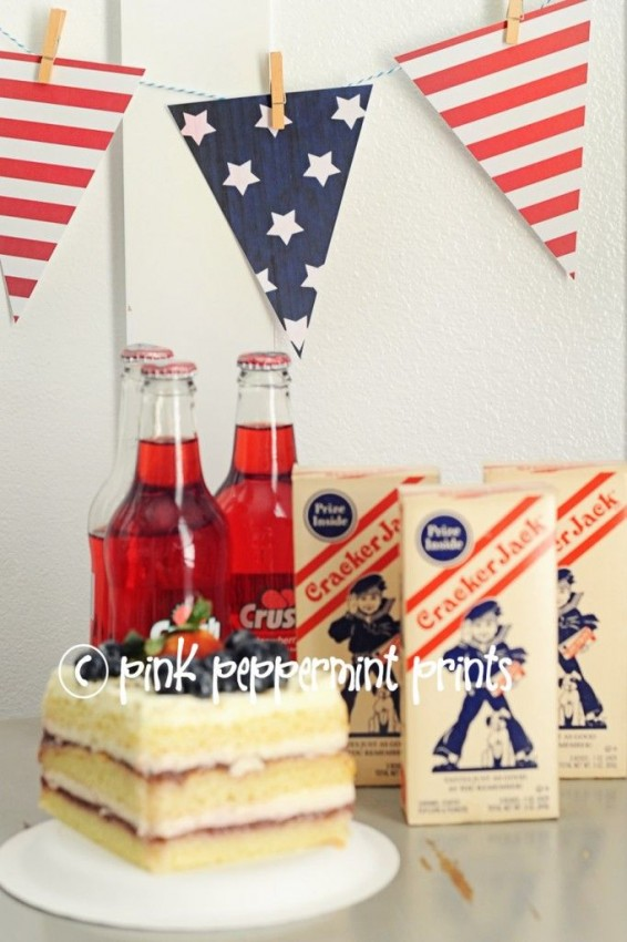 FF 4th of July Pink Peppermint Prints