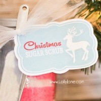 FFs Christmas Tag Lolly Jane