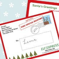 FFs Letter from Santa Mr Printables