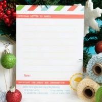 FFs Letter to Santa Confetti Sunshine