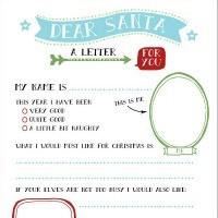FFs Letter to Santa Wink Design