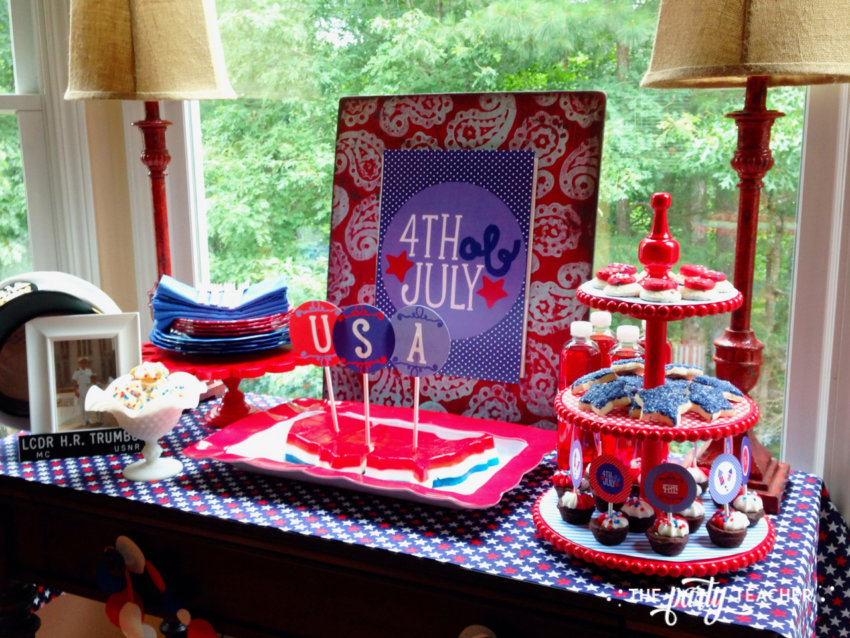 Home of the Brave 4th of July Party by The Party Teacher - 8