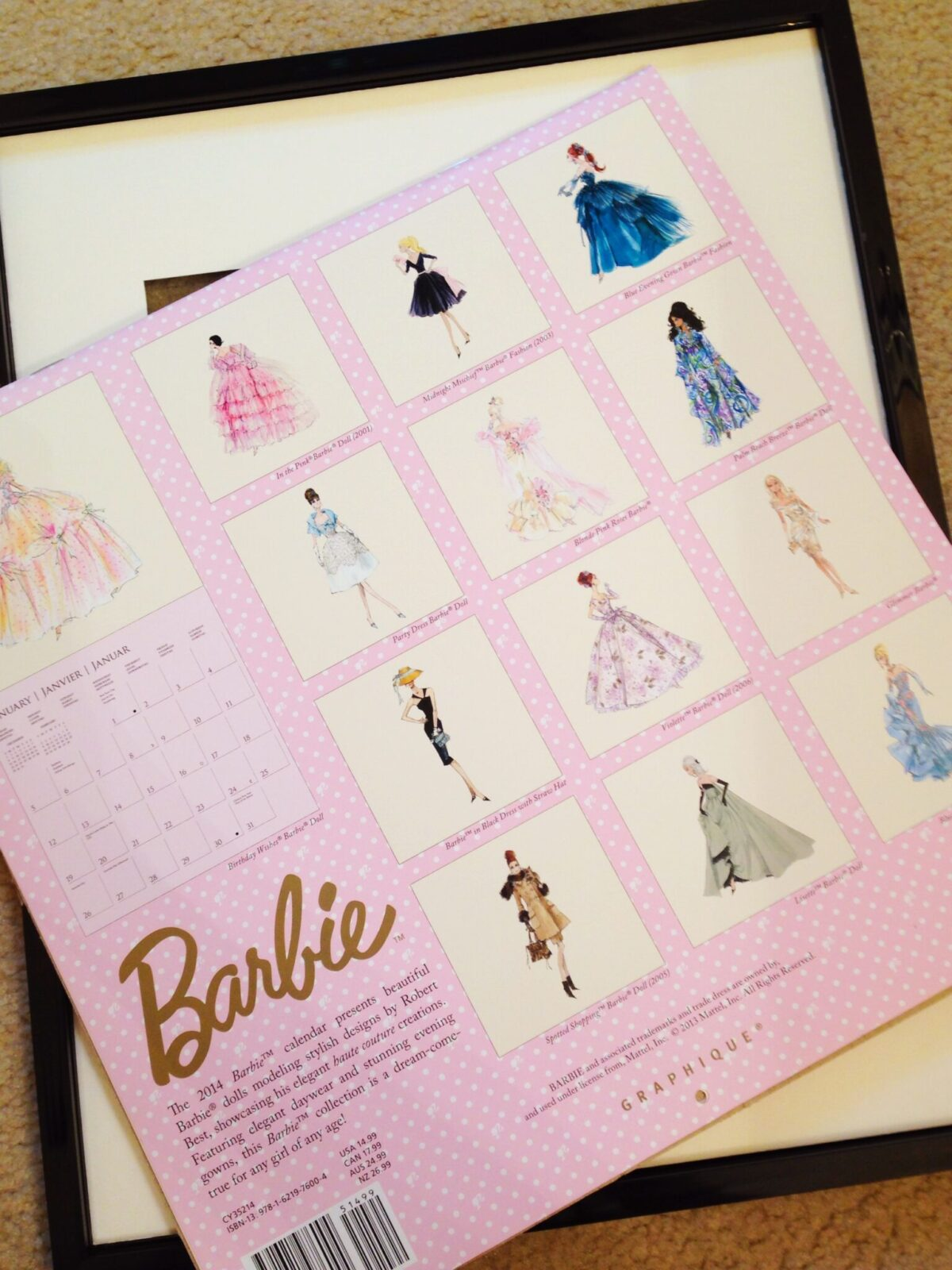 Diy barbie framing project drama at the antique store img2446 jeuxipadfo Choice Image