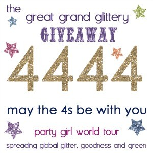 Glittery Purple Giveaway: 5 Chances to Win!