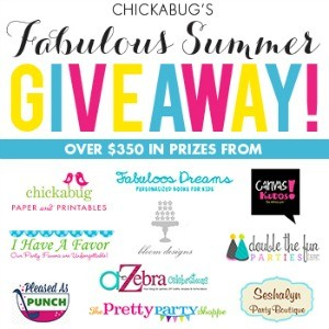 $350 Summer Party Giveaway