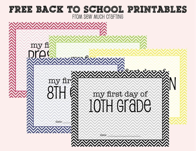 FF Sew Much Crafting back to school