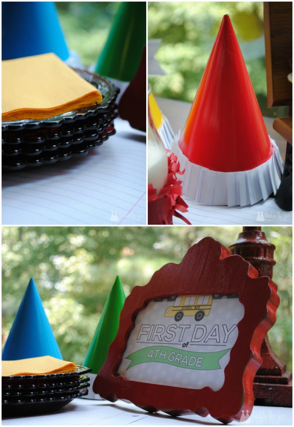 Back to school party in primary colors by Double the Fun Parties