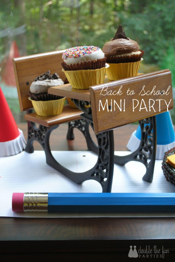 Celebrate the end of the first day back to school Back to School Mini Party by Double the Fun Parties