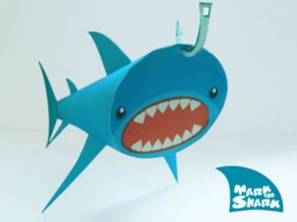 FF Paper Box World Shark