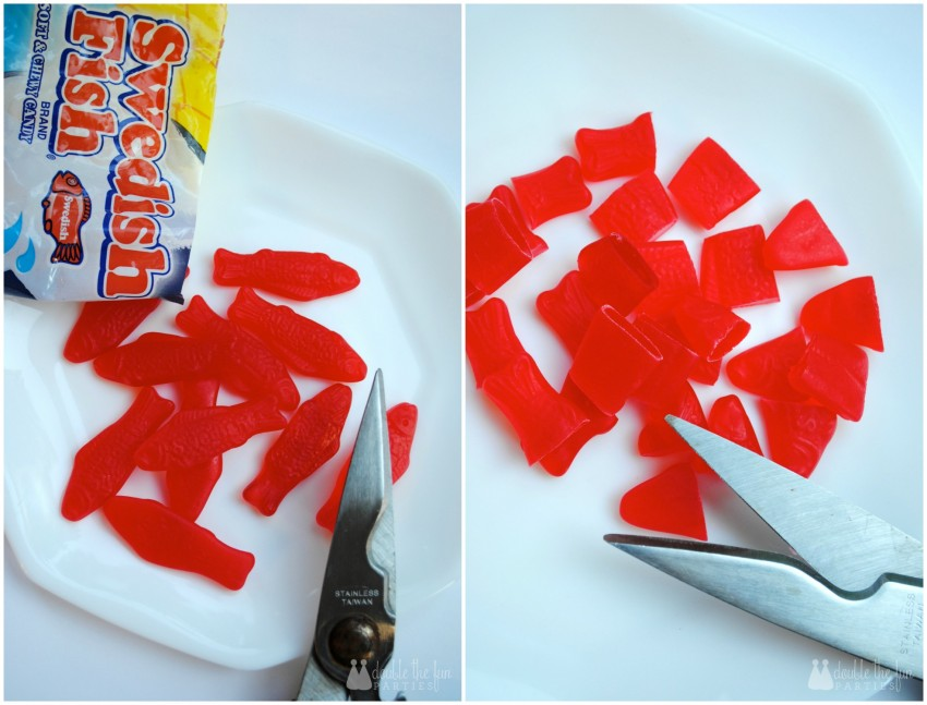 Shark chum Jell-O tutorial - step 3