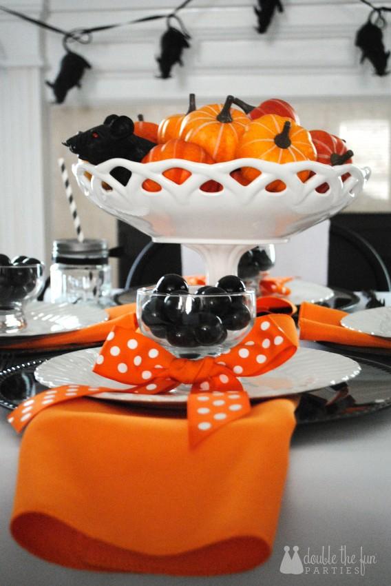 3-D Black Rat Halloween Art by Double the Fun Parties - 0926