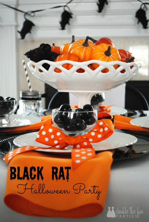 Black Rat Halloween Party by Double the Fun Parties - 0926 title