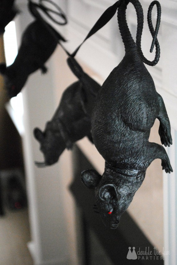 Black Rat Halloween Party by Double the Fun Parties - 1002