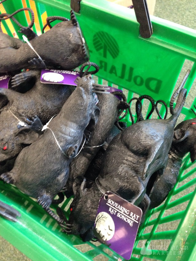 Black rats at Dollar Tree