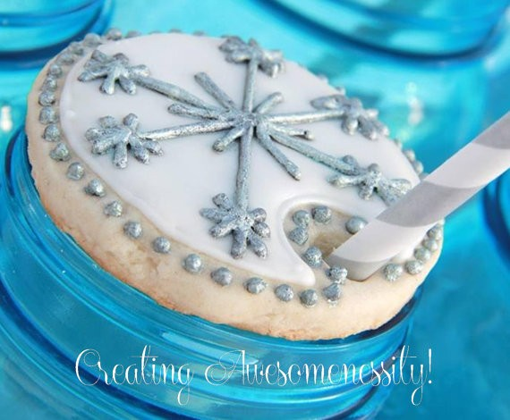 Creating Awesomenessity Snowflake Cookie