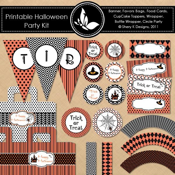 FF Halloween Shery K Designs