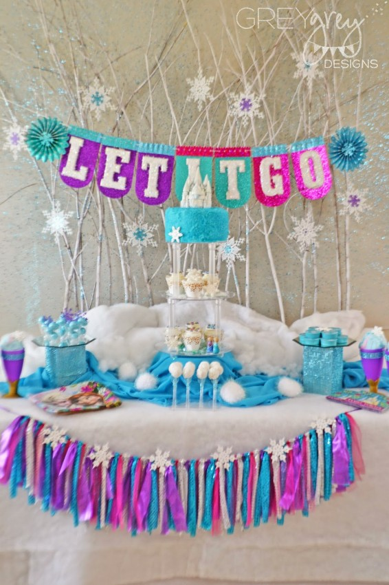 Grey Grey Designs Frozen Party