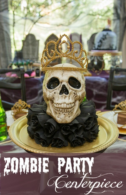 Zombie Princess Party Centerpiece by Double the Fun Parties