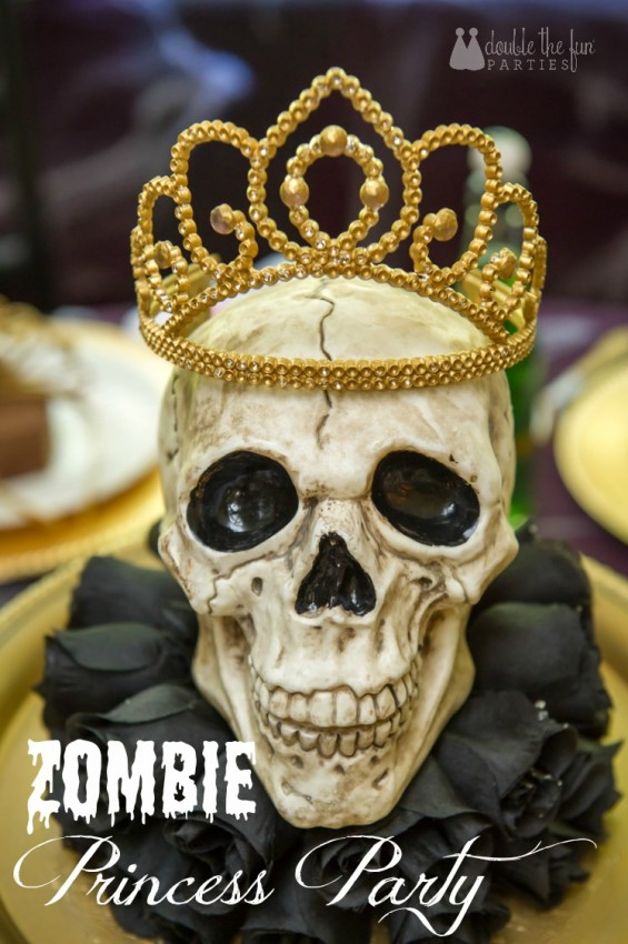 Zombie Princess Party by Double the Fun Parties