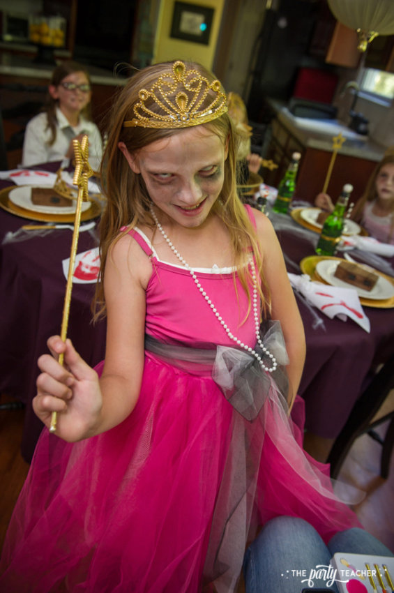 Zombie Princess Party by The Party Teacher - zombie princess costumes