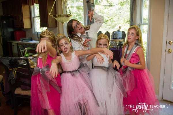 Zombie Princess Party by The Party Teacher - zombie princesses