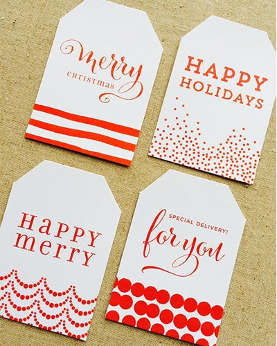 FF Design Corral Christmas Tags