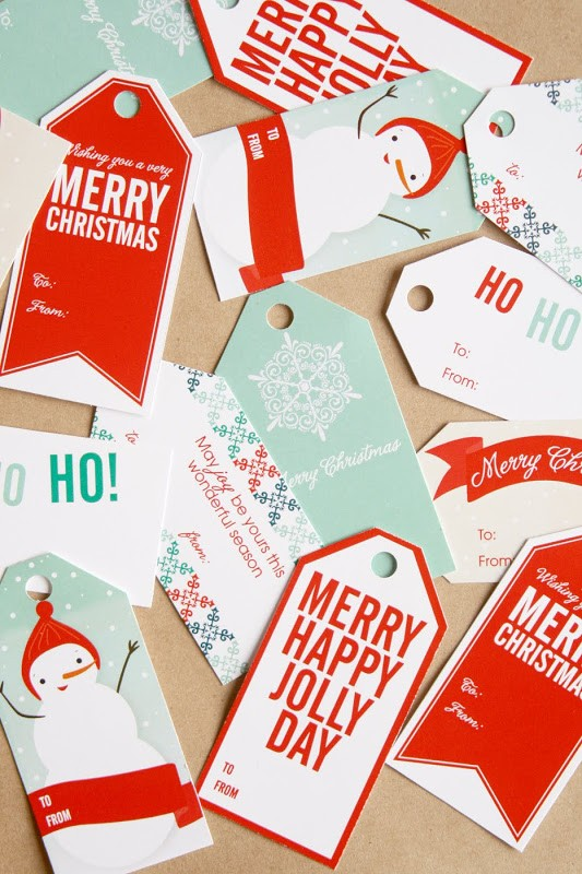 FF Lemon Squeezy Christmas Tags