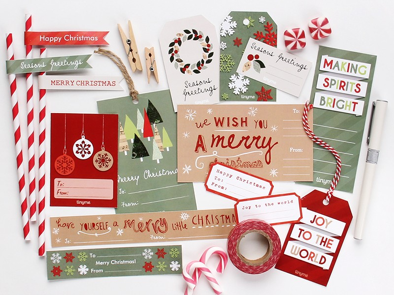 FF Tiny Me Christmas Tags