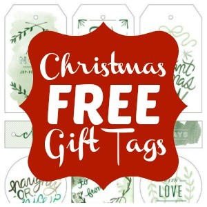 Freebie Friday: Christmas Gift Tags