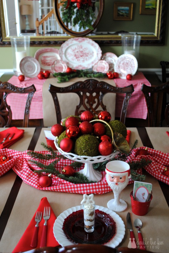 Home for the Holidays Christmas by Double the Fun Parties 1043