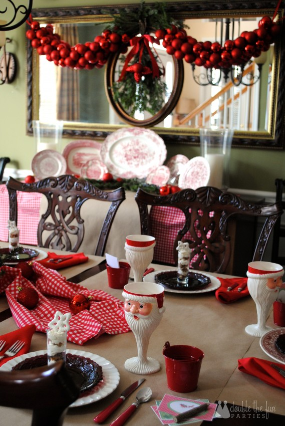Home for the Holidays Christmas by Double the Fun Parties 1084