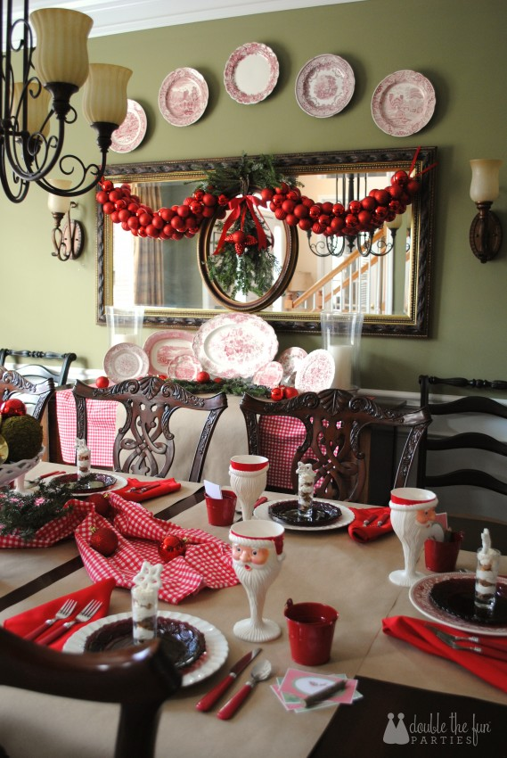 Home for the Holidays Christmas by Double the Fun Parties 1085