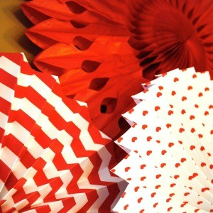 Tutorial: How to Hang a Tissue Fan Party Backdrop