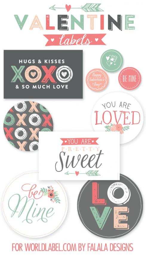 FF FaLaLa Designs Valentine's