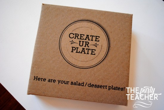 Personalize your party plates with removable stickers - The Party Teacher 1