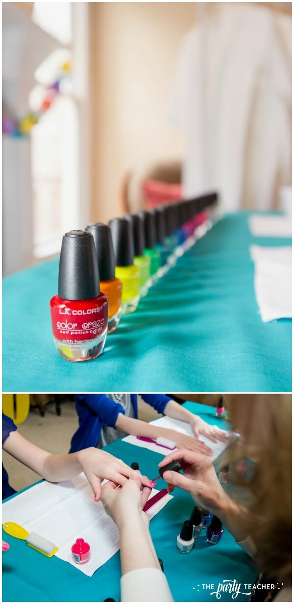 Twins Top 10 Party by The Party Teacher - manicures