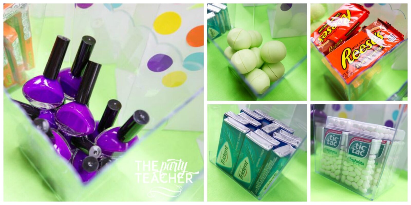 Twins Top Ten Party Favors-2 Collage by The Party Teacher