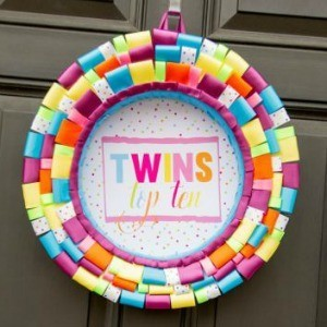 Tutorial: How to Make a Ribbon Wreath
