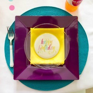 Tutorial: How to Customize Your Plates to Match Your Party