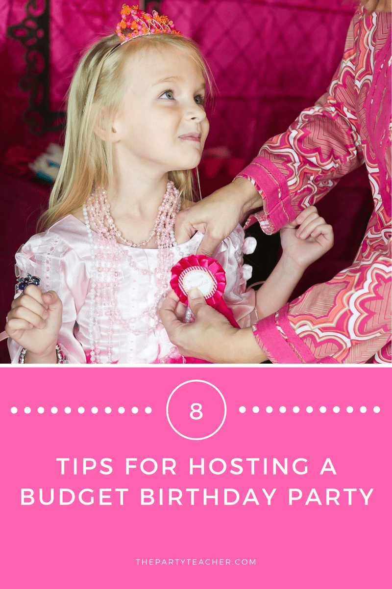 8 Budget Birthday Party Tips